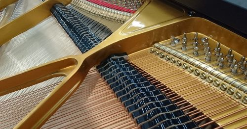 piano strings musical instrument