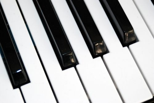 piano keyboard keys music instrument