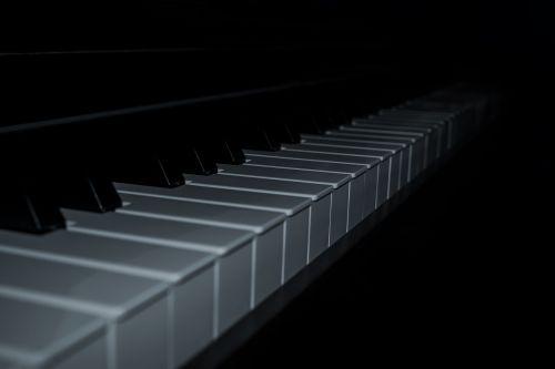 piano keys piano keyboard