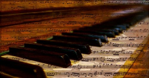 piano piano keys notes