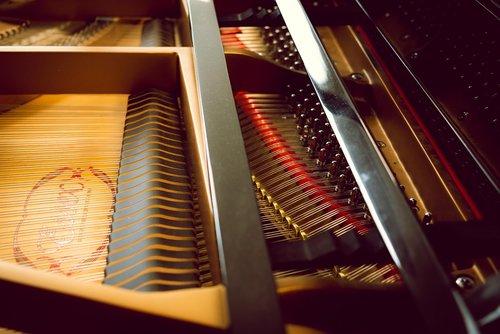 piano  strings  music