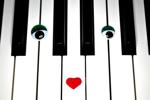 piano piano lessons eyes
