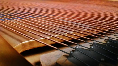 piano strings piano strings