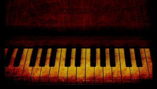Piano Keys Vintage