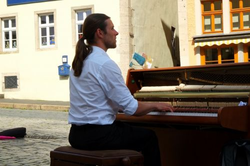 piano player musician piano keys