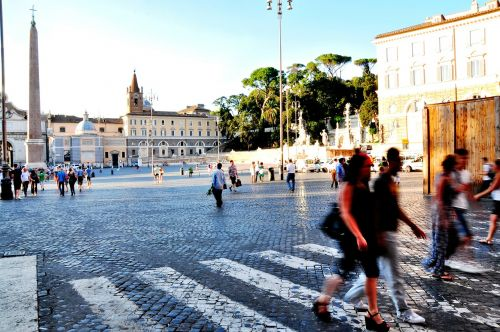piazza piazza del popolo rome