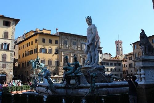 piazza della signoria florence italy