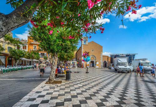 Piazza In Sicily