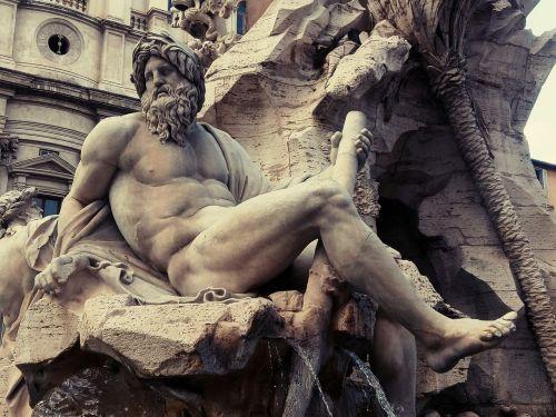 piazza navona fontana rome