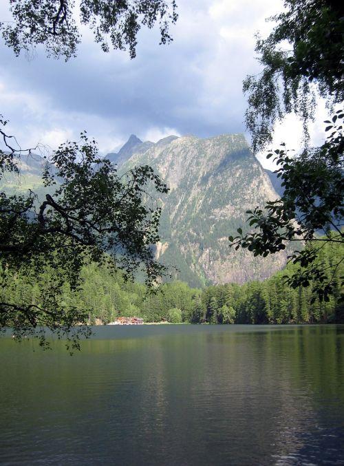 piburger lake ötztal bergsee