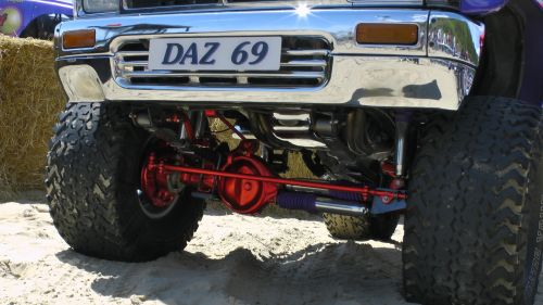 Pick Up Truck Front Axle