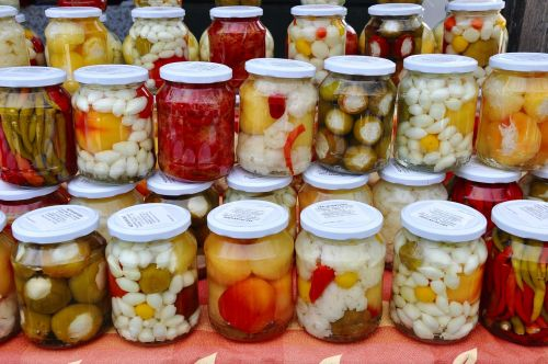 pickles mixed food