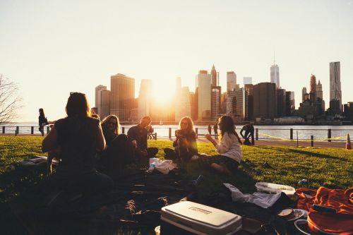 iškylai,lauke,šeima,draugai,socialinis,miesto skveras,riverwalk,Promenada