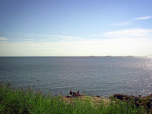 picnic sea beach