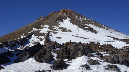 pico del teide mount teide volcano