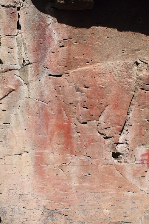 pictograph rock art drawing