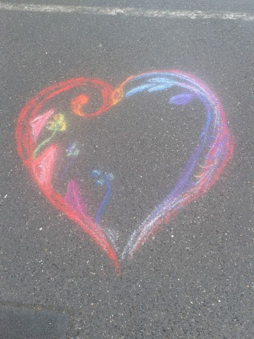 heart creativity drawing