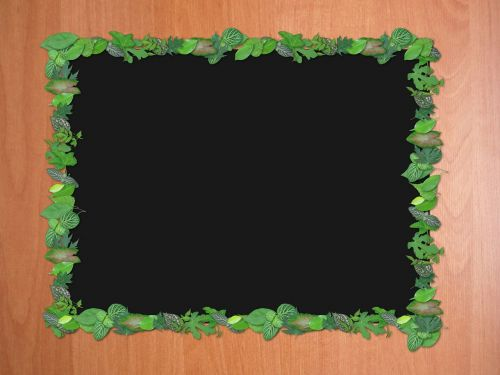 picture frame the background board
