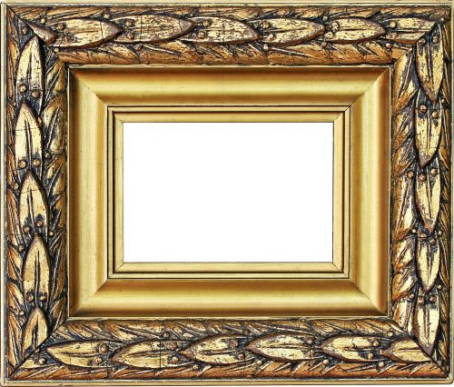 picture frame gold frame stucco frame