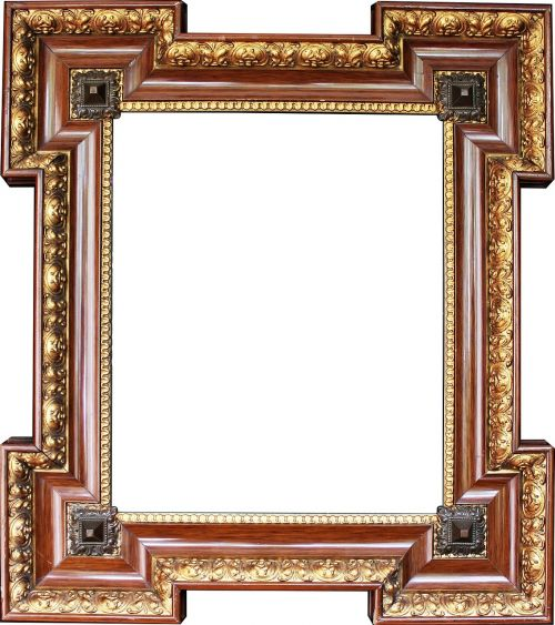 picture frame gold stucco frame frame
