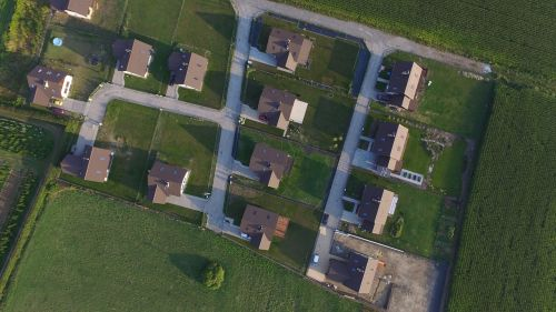 picture from the air picture with drone shooting with drone