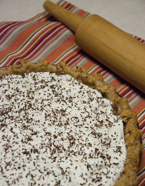 pie french silk rolling pin
