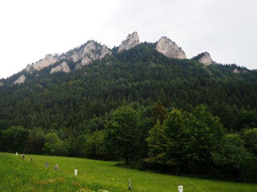 pieniny the three crowns mountains