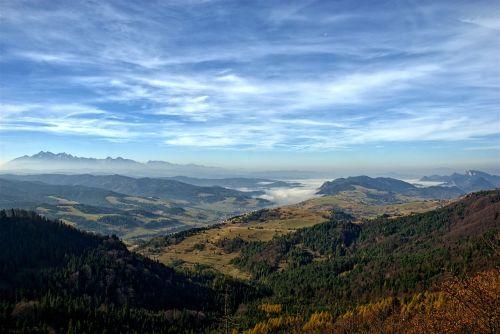 pieniny high mountains