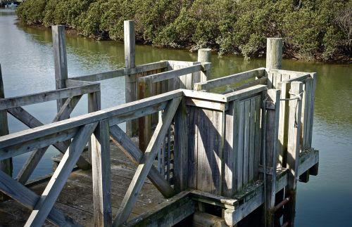 pier wooden structure