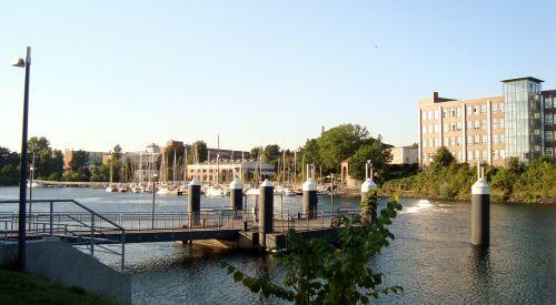 pier boat river
