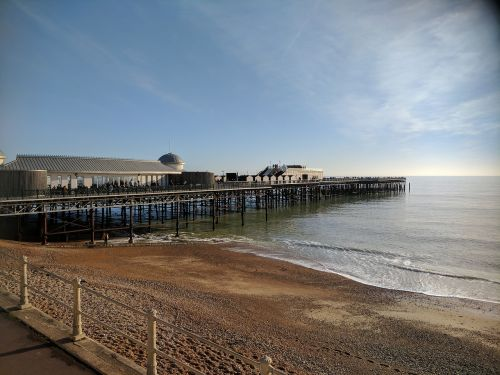 pier seaside coast