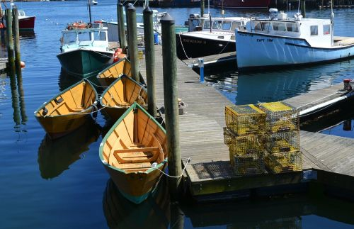 pier dock boats