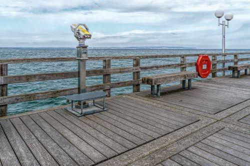 pier sea waters
