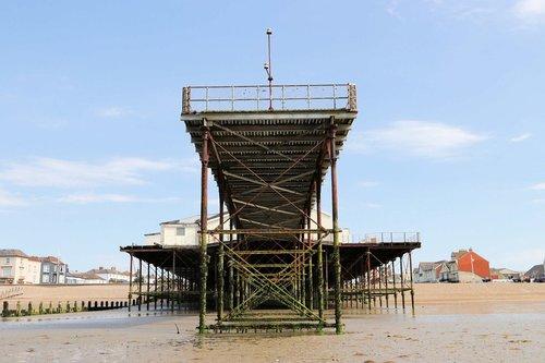 pier  seaside  beach