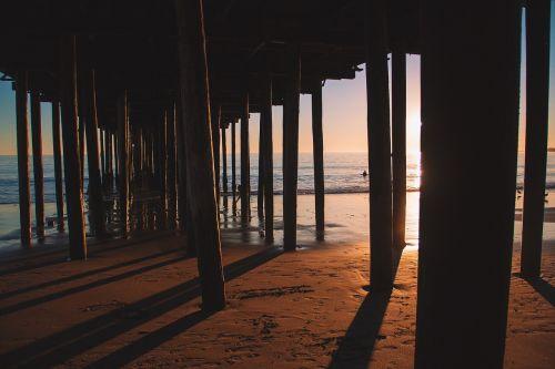 pier wooden jetty