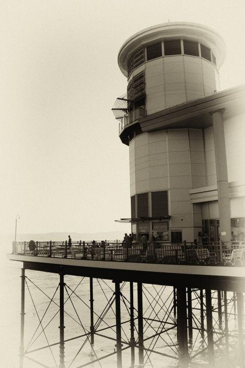 pier weston super mare sea