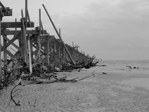 Pier After Hurricane Katrina