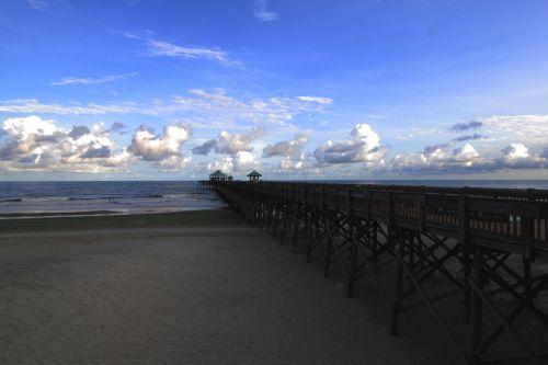 Pier At Folly Beach