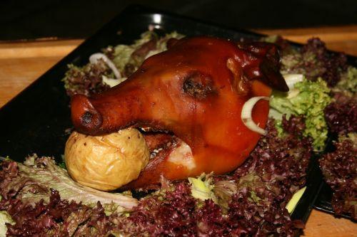 pig food roast
