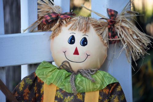 Pig Tailed Scarecrow
