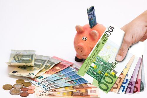 piggy bank save saved