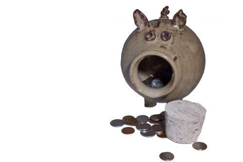 piggy bank money coins