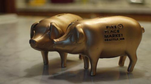 piggy bank seattle pig