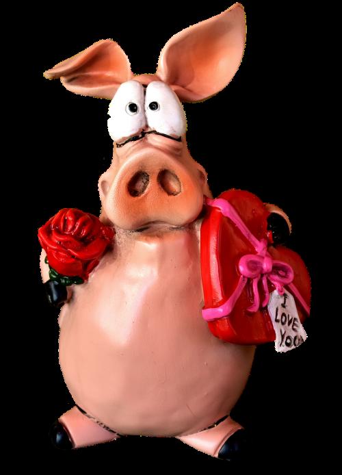 piglet figure love