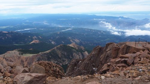pikes peak mountain alpine