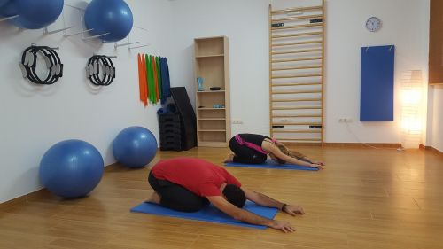 pilates stretching yoga