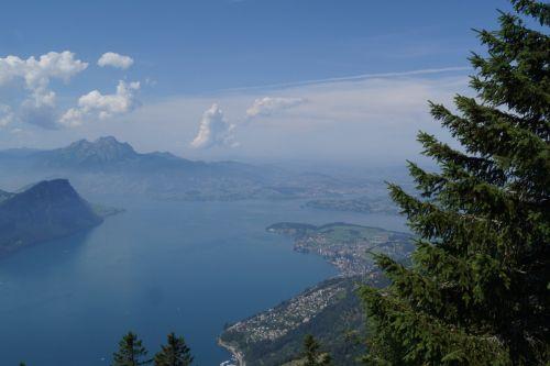 pilatus lake basin lake lucerne region