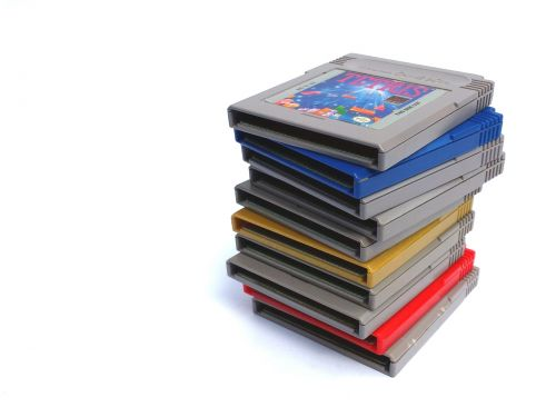 Nintendo, žaidimas berniukas, konsolė, retro, vintage, rankinis, nintendo žaidimas nėščia, elektronika, technologija, žaidimų, 8 bitų, nešiojamas, kasetės, vežimėliai, žaidimai, krūva Nintendo žaidimo berniukų žaidimai