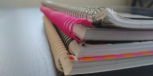 Pile Of Notebooks