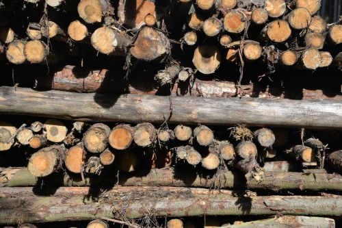 pile of wood aesthetic background